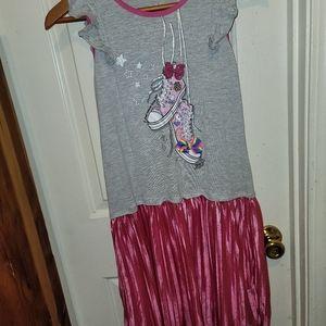 Nickelodeon Jojo Siwa dress, size XL